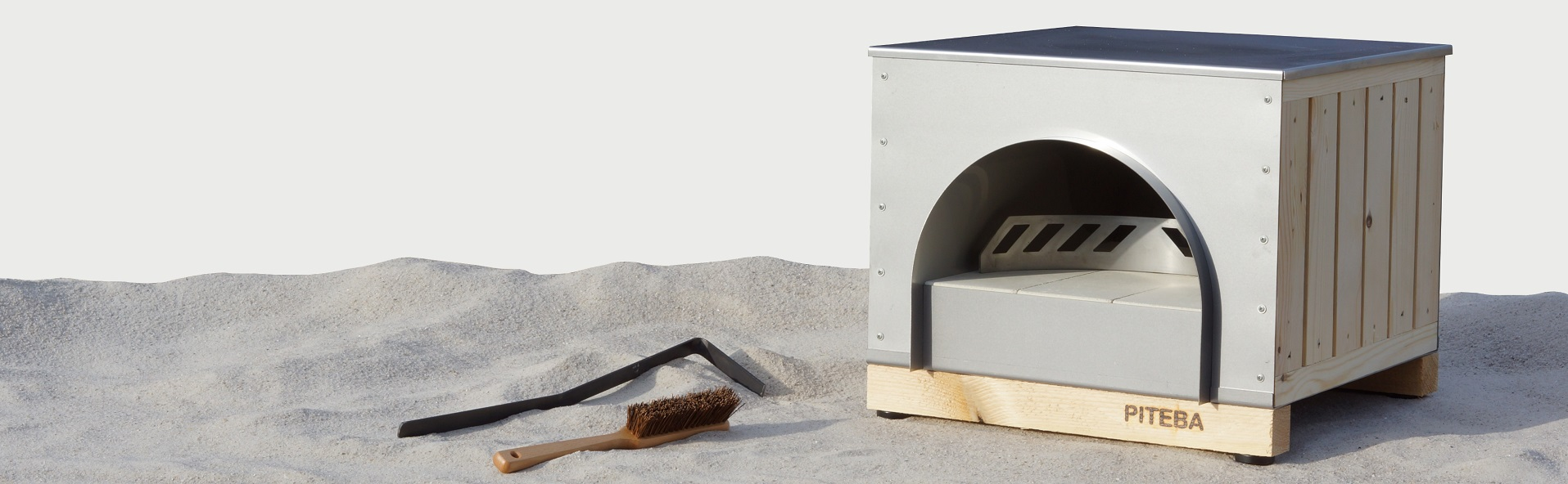 PITEBA Outdoor wood-fired pizza oven